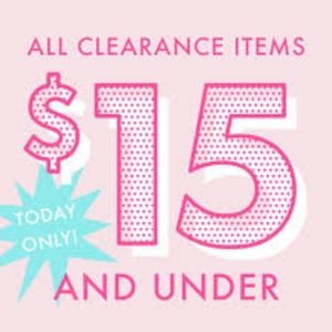 Tops - PRICES DROPPED $15 AND UNDER SALE